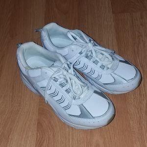 Danskin white sneakers